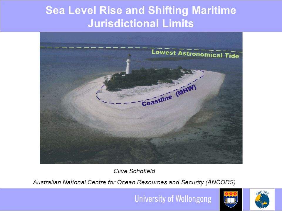 Sea Level Rise IPCC's estimated range of sea level rise: 0.38- 0.59m by the end of the century.