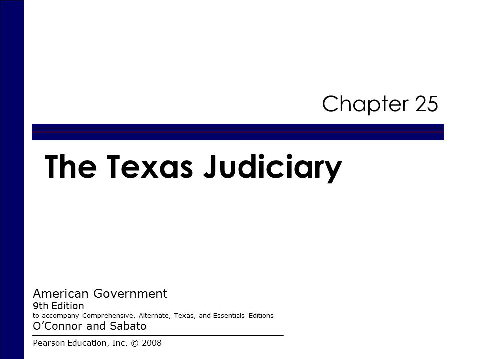 The Development of the Texas Judiciary  The first courts in Texas were established in the Austin colony.