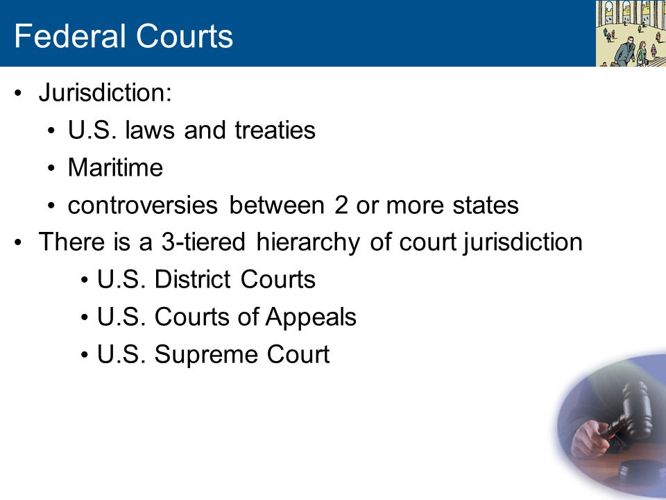 Federal Courts Jurisdiction: U.S.