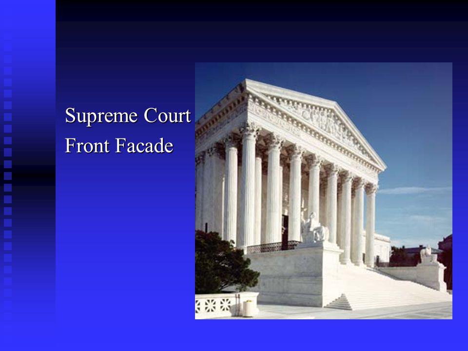 Supreme Court Front Facade
