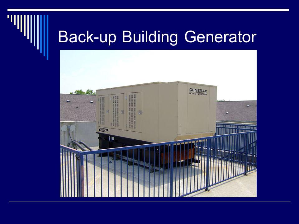 Back-up Building Generator