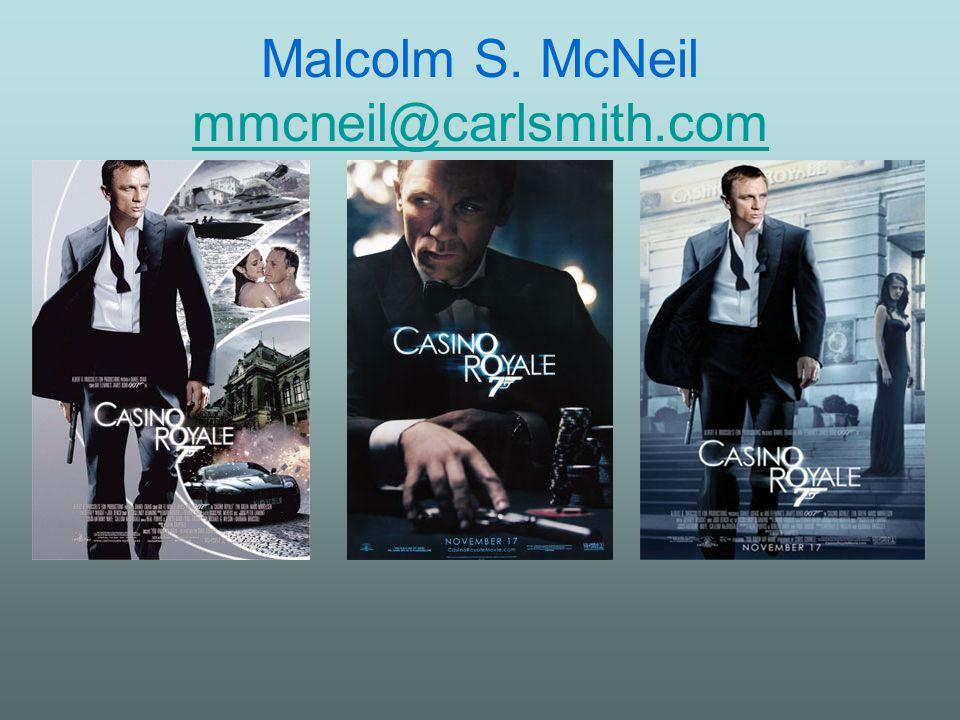Malcolm S. McNeil mmcneil@carlsmith.com