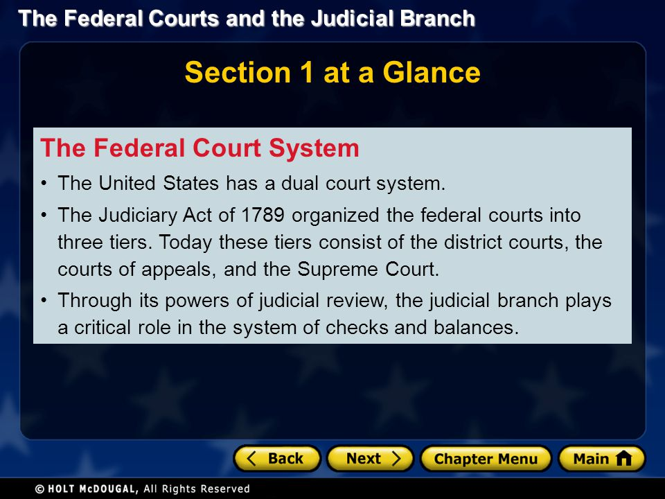 The Federal Courts and the Judicial Branch Jurisdiction S Court that first hears a case has original jurisdiction; if appealed to another court, that court has appellate jurisdiction.