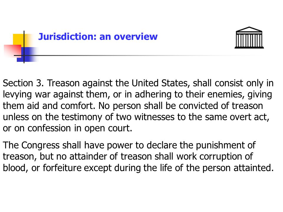 Jurisdiction: an overview Sec.1251.