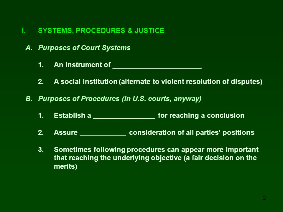 3 C.Justice and Fair Trials 1. What does justice and fairness mean.
