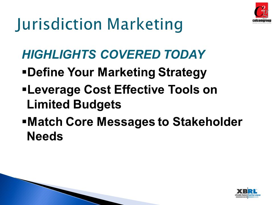 Define Your Marketing Strategy DEVELOP A WRITTEN PLAN It all starts with: –Knowing your organization –Knowing your members –Knowing your stakeholders