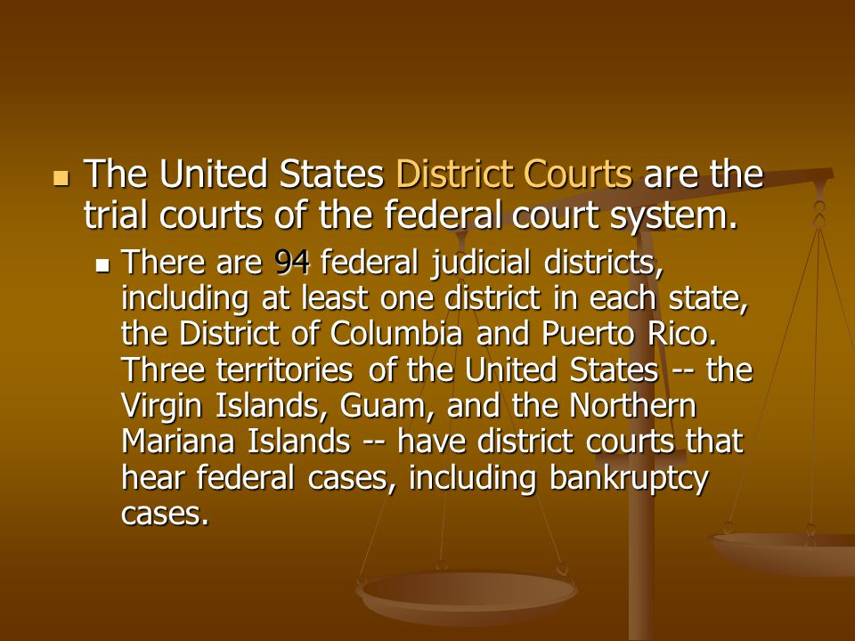 II. Federal Courts Article III of the U.S. Constitution est.