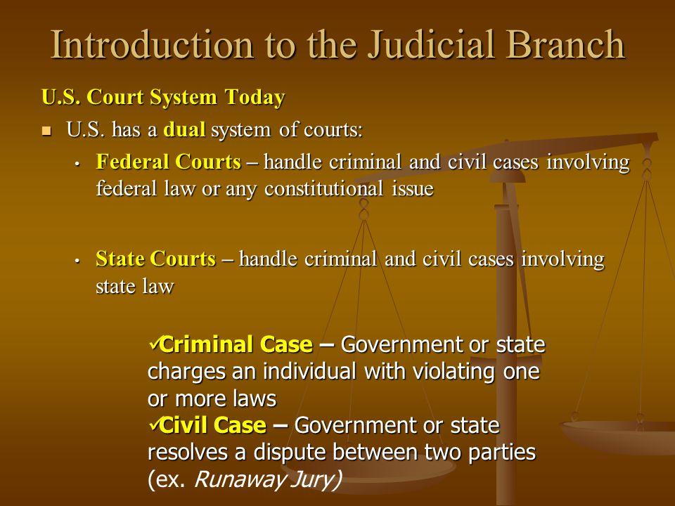 Prosecution / Plaintiff Each District Court has a U.S.