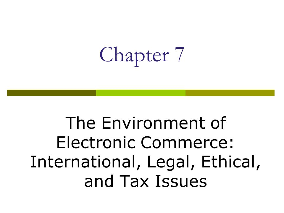 Ethical Issues  Laws in Malaysia  Companies using Web sites to conduct electronic commerce should adhere to the same ethical standards that other businesses follow.