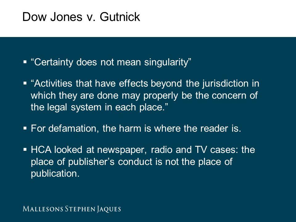 Dow Jones v.