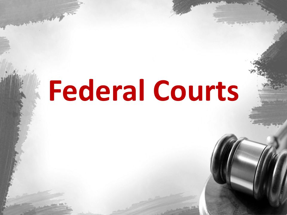 The Federal Courts Four layers of authority in the federal court system: 1.The Supreme Court 2.13 Courts of Appeal and the Court of Appeals for the Federal Circuit.