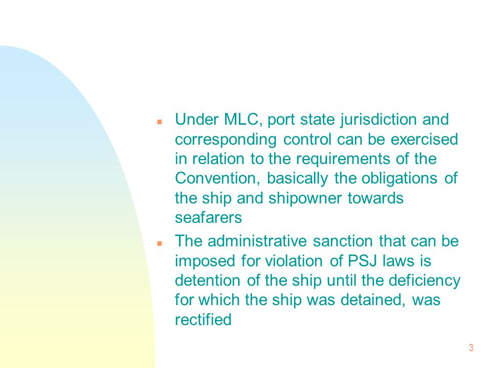 n Any breach of convention requirements is a deficiency even if the deficient act was committed or occurred before the ship entered the waters of the coastal state in question so long as its entry into the port or offshore terminal was voluntary 4