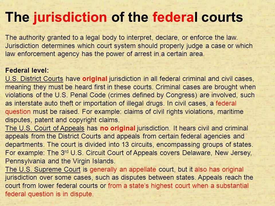 Constitution s grant of ORIGINAL JURISDICTION: ARTICLE III, SECTION 2......
