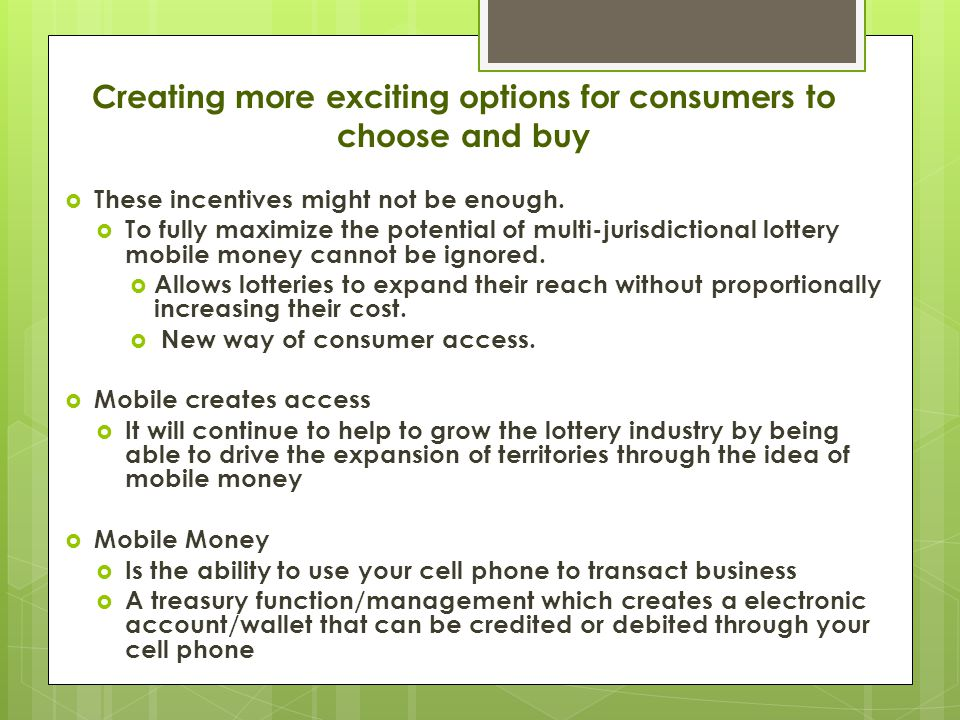 Creating more exciting options for consumers to choose and buy  These incentives might not be enough.