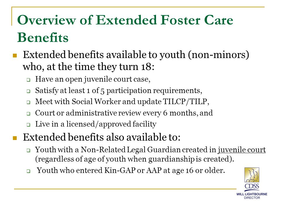 Mutual Agreement for Extended Foster Care (SOC 162) Page 1