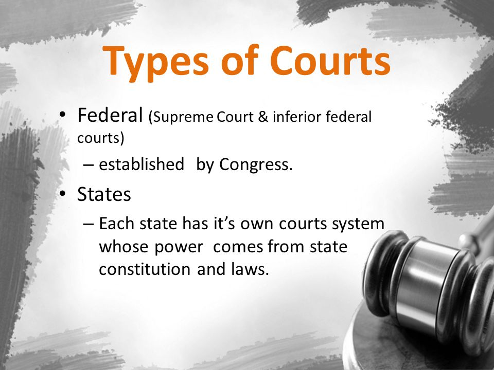 Federal Court Jurisdiction The Constitution gave federal courts jurisdiction in cases that involve United States laws, treaties with foreign nations.