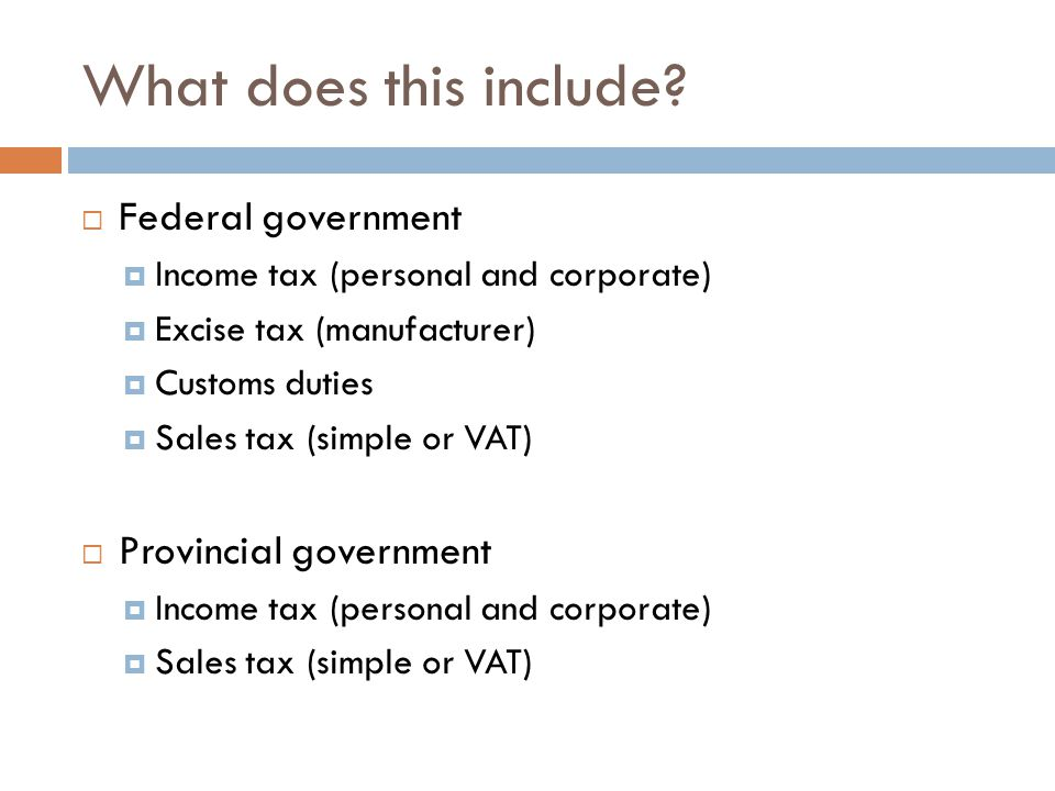 Limits on provincial tax jurisdiction  Direct taxation within the province in order to the raising of a Revenue for Provincial Purposes  Direct taxation  Within the province  To raise revenue for provincial purposes