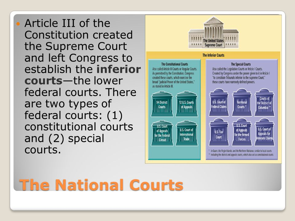 Types of Jurisdiction Exclusive and Concurrent Jurisdiction Some cases can only be heard in federal courts.