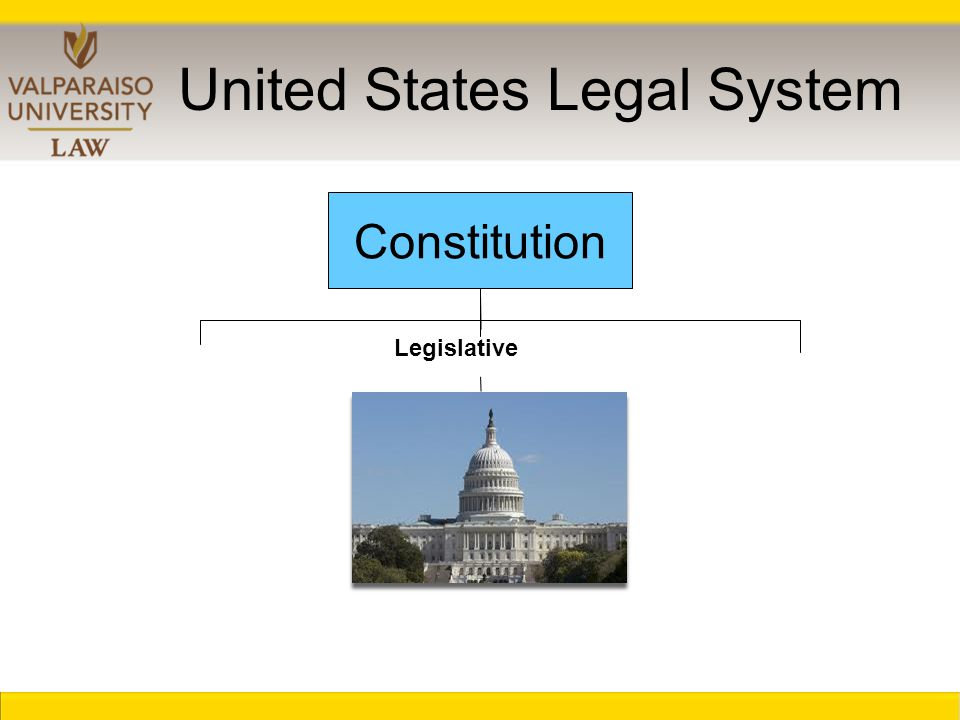 United States Legal System Constitution Executive