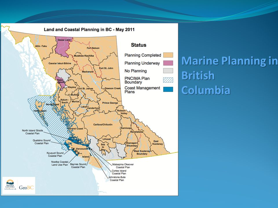 Marine Planning in British Columbia