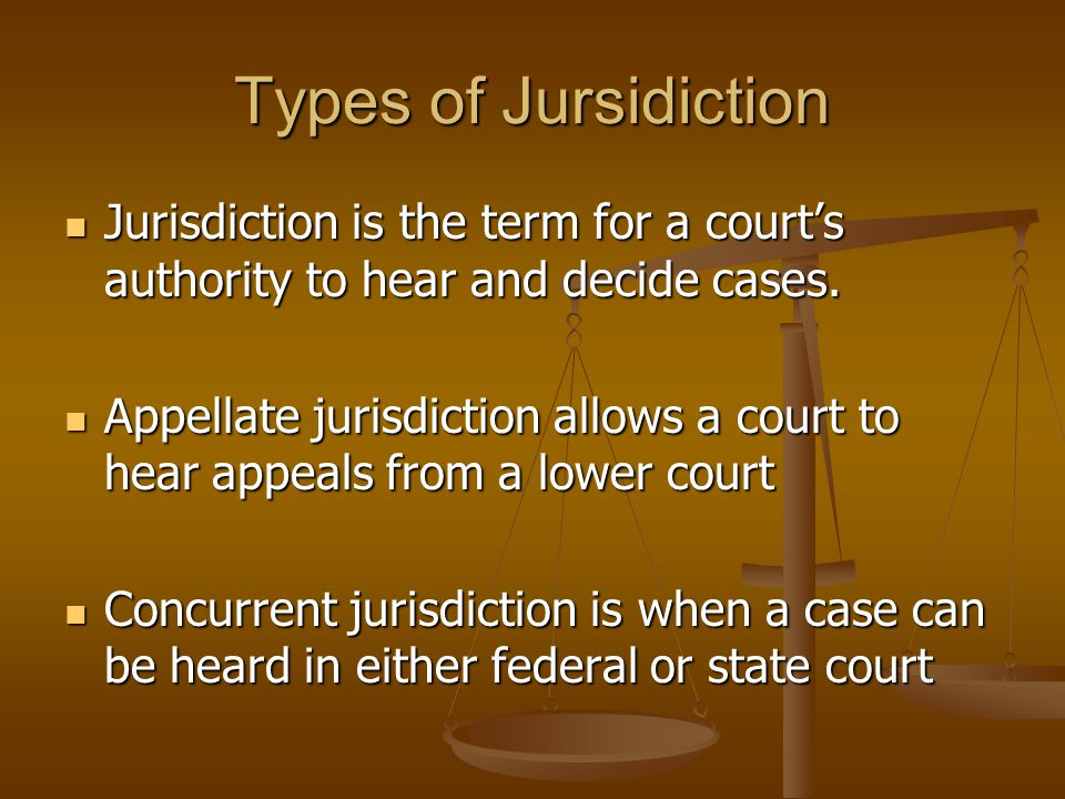 Types of Courts Appeals court can remand a case, that is, send it back to the lower court for retrial.