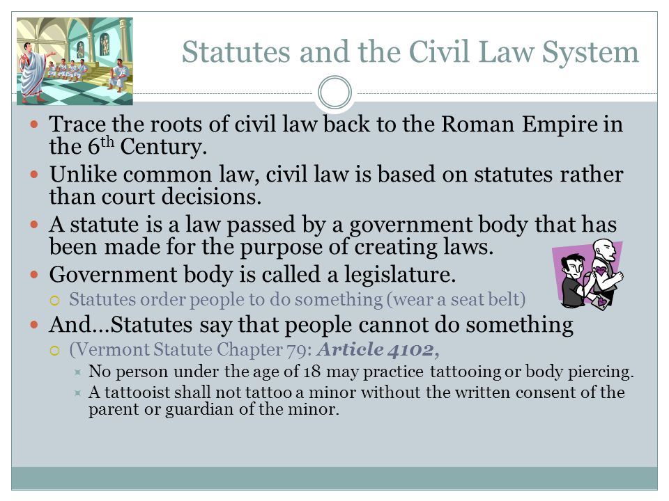 Common Law Common law is a set of laws made by the courts which provide a series of consistent rules that later courts must follow.  Early American c