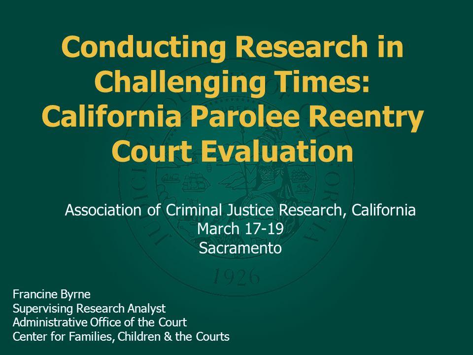 Questions? Francine Byrne, Supervising Research Analyst Francine.byrne@jud.ca.gov 415-865-8069
