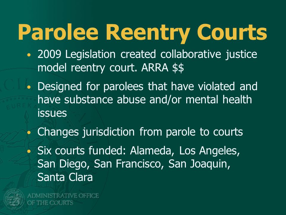 Program Compliance 6% received jail sanctions in first quarter 13% Rearrested 0 revocations
