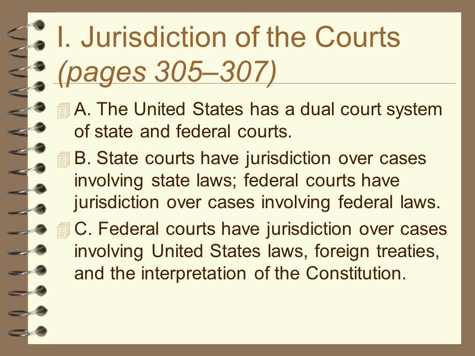I.Supreme Court Jurisdiction (pages 321–323)  A.