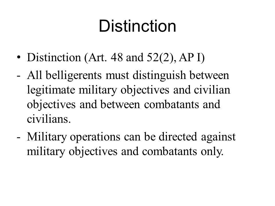 Distinction Distinction (Art.