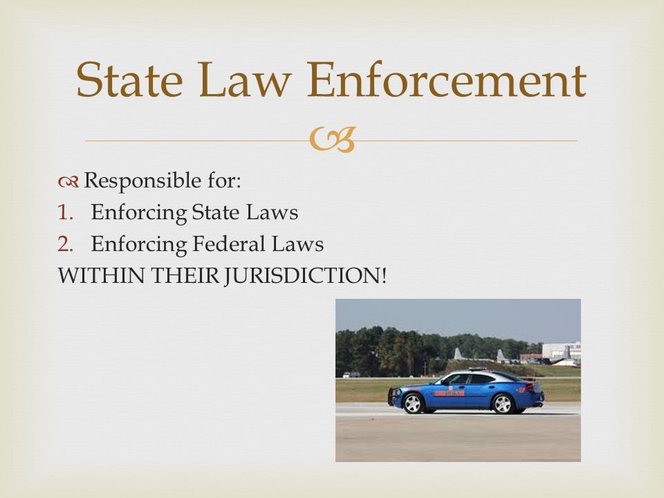  Criminal Law is violation of law that has been passed by legislatures and is enforced by government agencies(LOCAL, STATE, FEDERAL)  Murder, Robbery, Arson, Theft, Forgery, Tax Evasion, Noise Ordinance Criminal Law