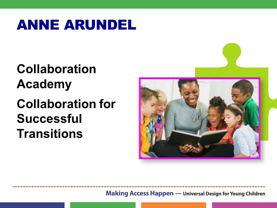 ANNE ARUNDEL Collaboration Academy Collaboration for Successful Transitions