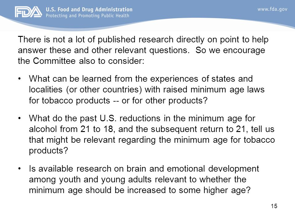 There is not a lot of published research directly on point to help answer these and other relevant questions.