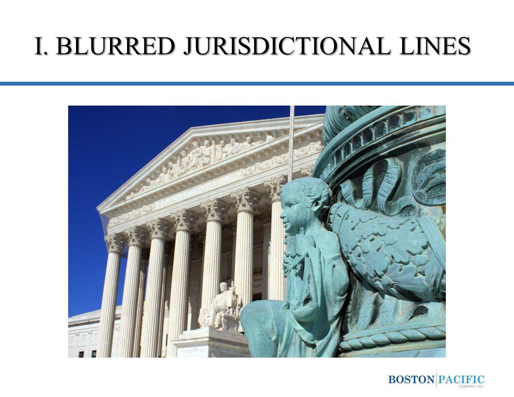 I. BLURRED JURISDICTIONAL LINES