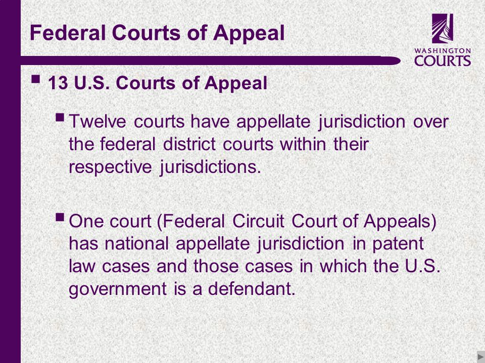 c Federal Courts of Appeal  13 U.S.