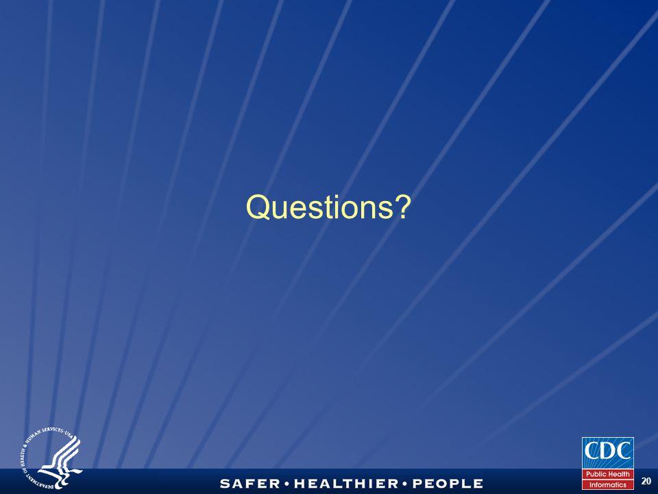 TM 20 Questions