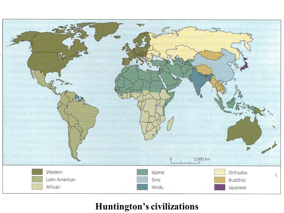 Huntington's civilizations