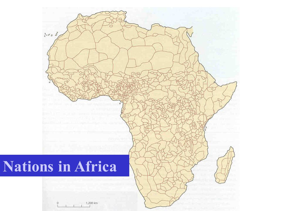 Nations in Africa