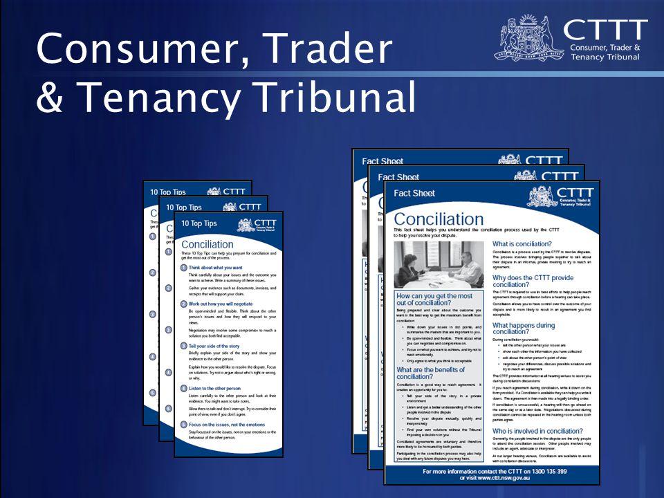 Consumer, Trader & Tenancy Tribunal
