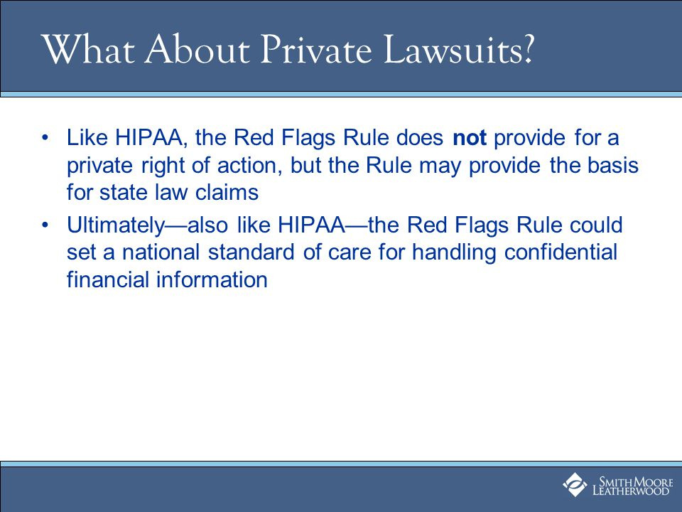 What About Private Lawsuits.