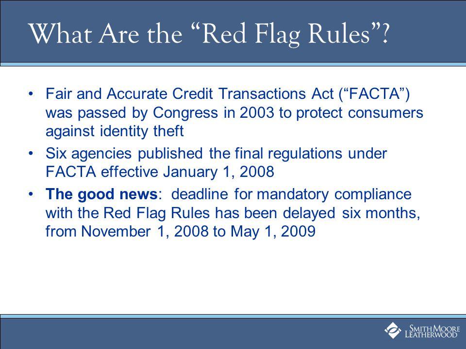 Additional Resources www.worldprivacyforum.org http://www.ftc.gov/os/2007/10/r611019redflagsfrn.pdf http://www.ncga.state.nc.us/EnactedLegislation/Statutes/ PDF/ByArticle/Chapter_75/Article_2A.pdf