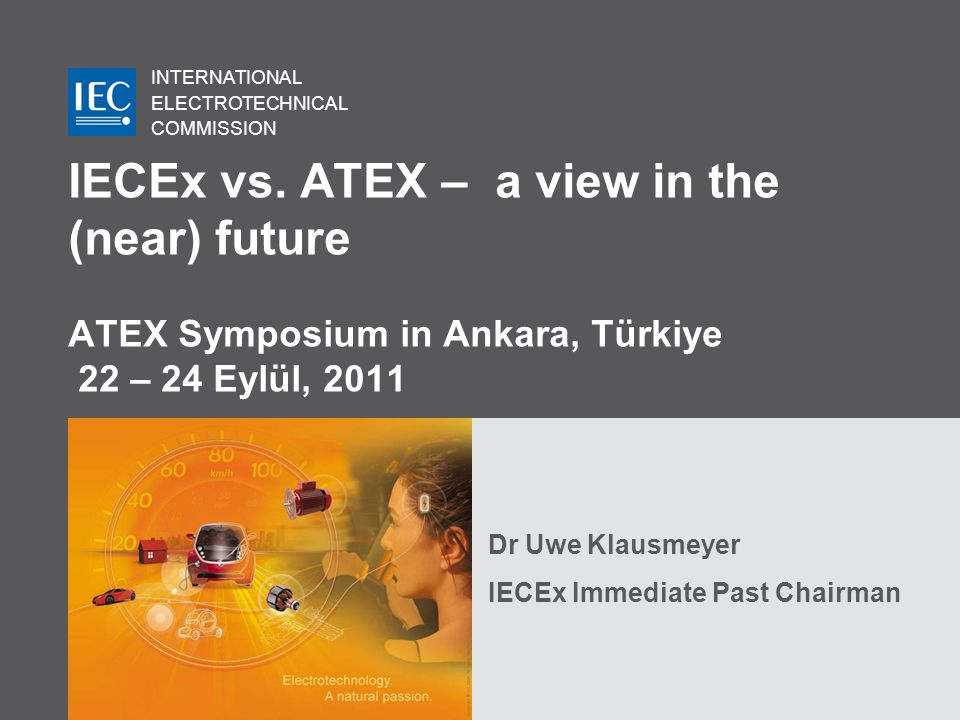 INTERNATIONAL ELECTROTECHNICAL COMMISSION IECEx vs.