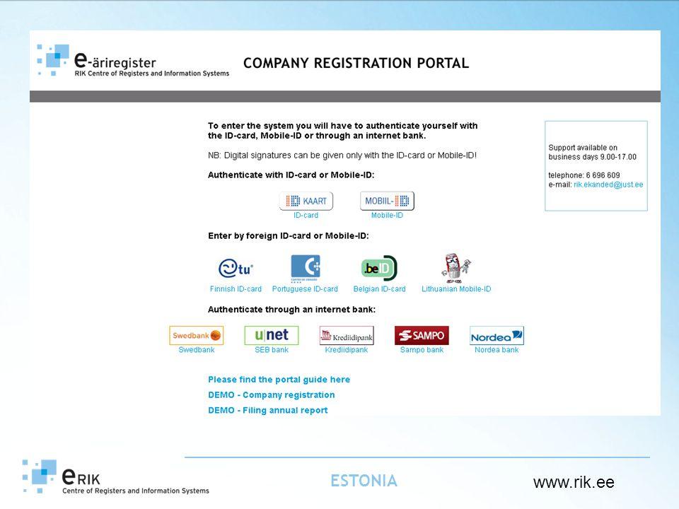 www.rik.ee ESTONIA