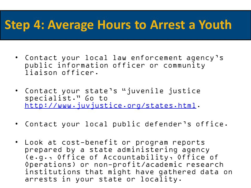 Contact your local law enforcement agency's public information officer or community liaison officer.
