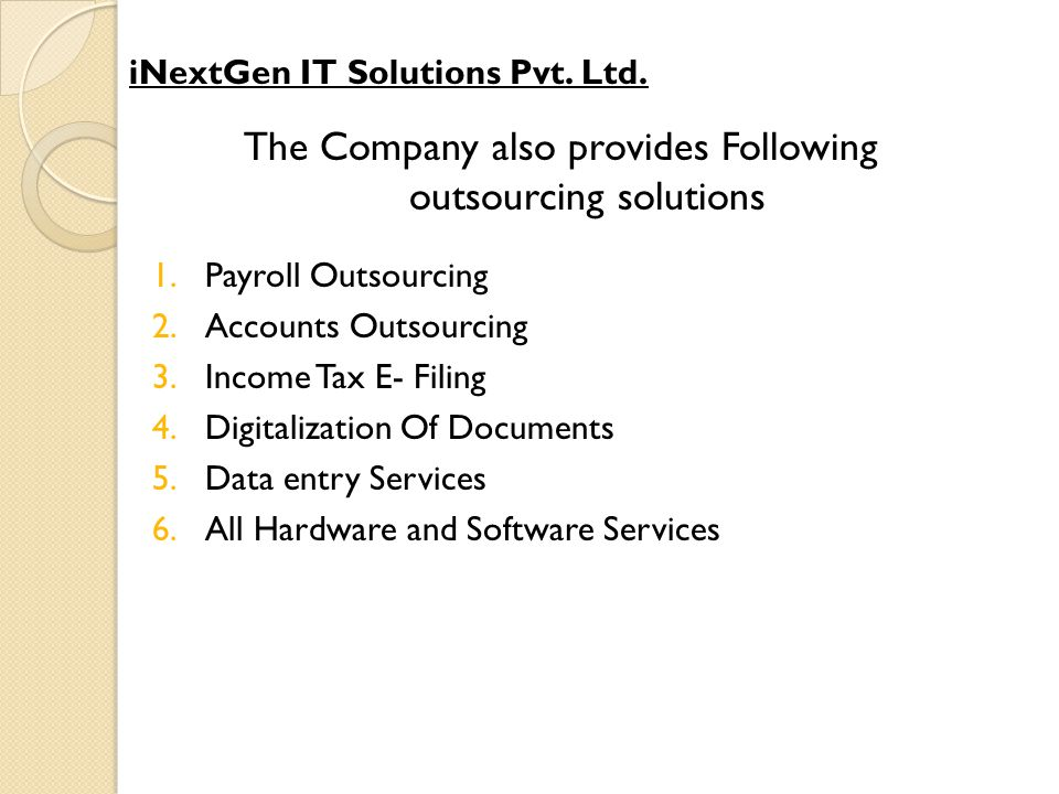 iTDS iTDS iTDS Software package has been designed and developed keeping in view the problems relating to tax deduction at source.