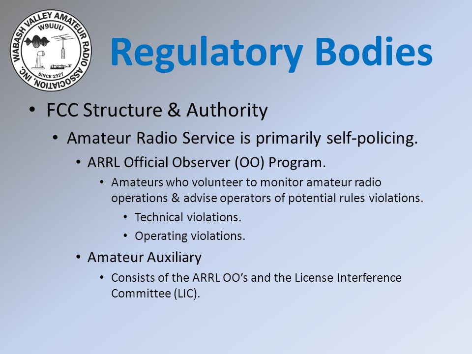 FAA Rules FAA also has jurisdiction over the Amateur Radio Service with regards to antennas & antenna structures.