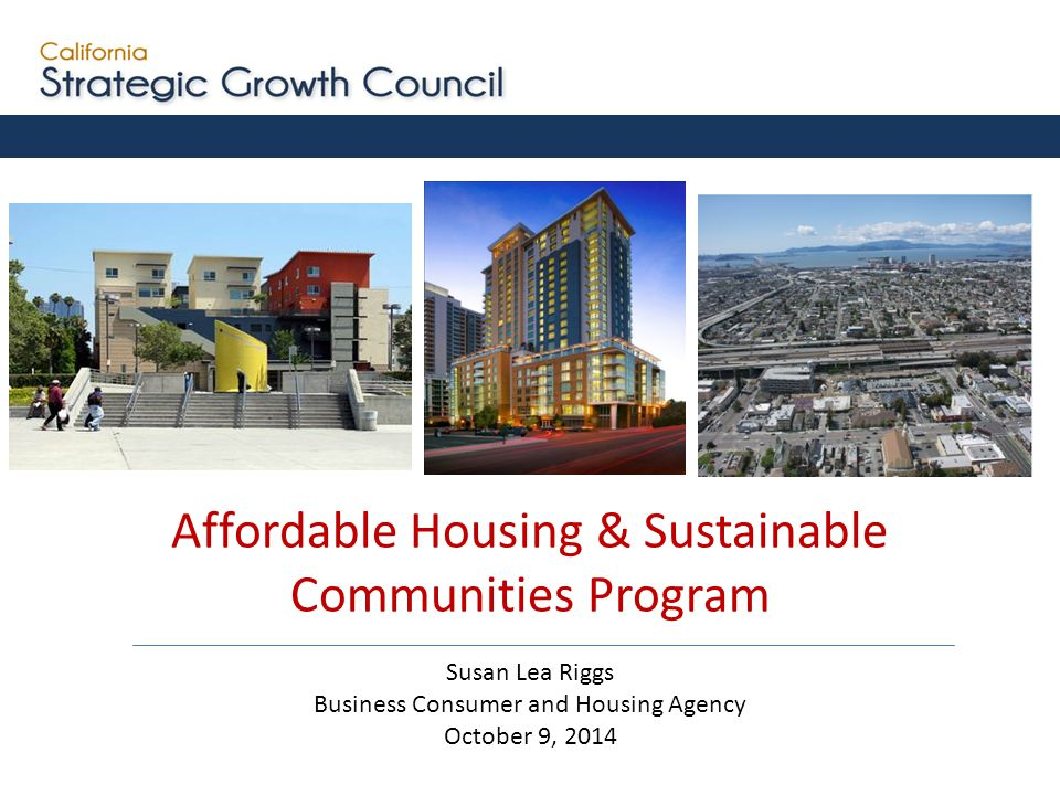 2014SB 862Created the Affordable Housing and Sustainable Communities Program 2006AB 32California Global Warming Solutions Act 2008SB 375Sustainable Communities and Climate Protection Act 2012SB 535Requires auction proceeds benefit and invest in Disadvantaged Communities 2012AB 1532Establishes public process and directs funds to reduce GHGs and achieve co-benefits 2012SB 1018Established the Greenhouse Gas Reduction Fund and accountability requirements 2 Key California Laws on Greenhouse Gas Reduction