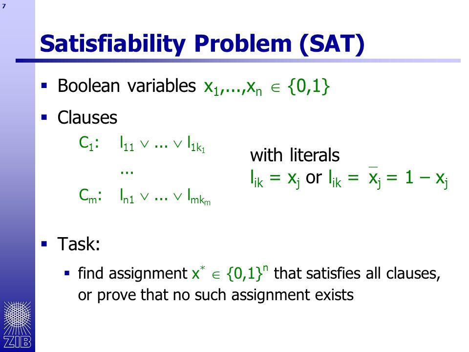 8 Binary Constraint Propagation  clause:
