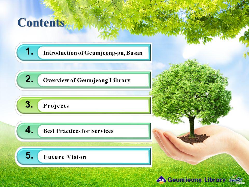 Contents 1. Introduction of Geumjeong-gu, Busan 2.