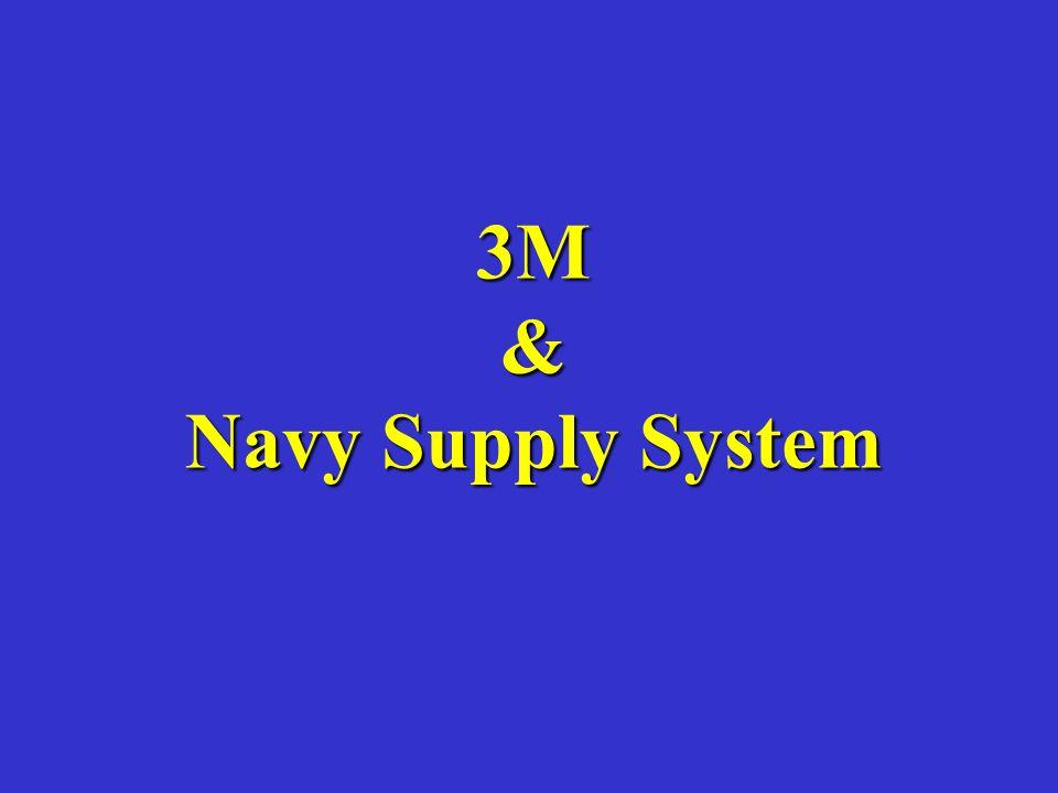 3M & Navy Supply System